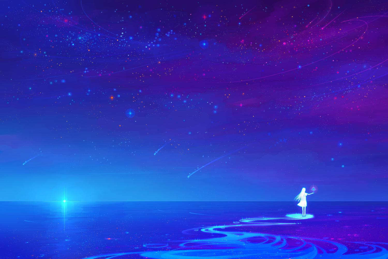 Juuyonkou Night Original Scenic Stars