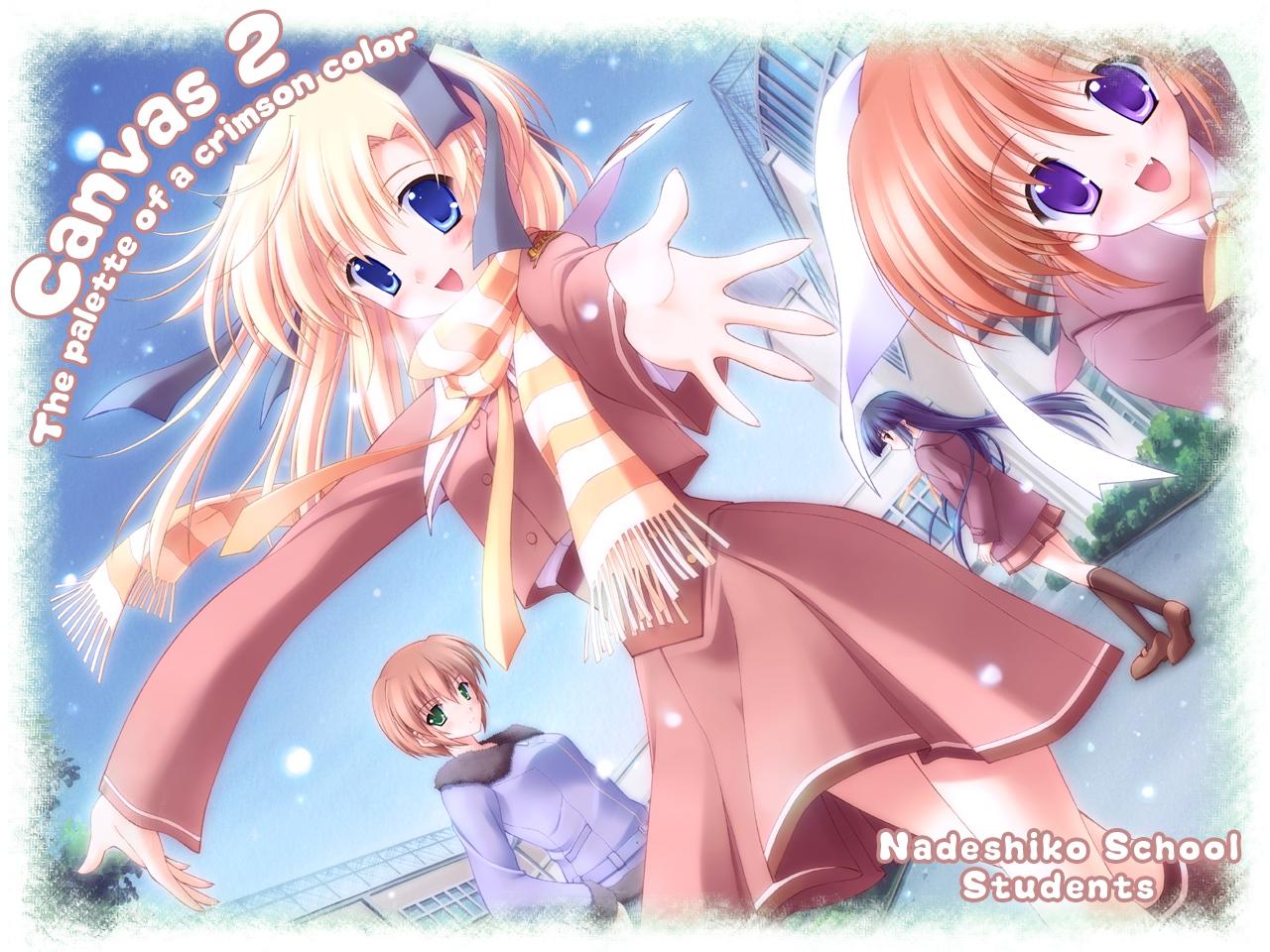 canvas2_niji_iro_no_sketch chikotam hagino_kana housen_elis kikyou_kiri misaki_sumire nanao_naru school_uniform