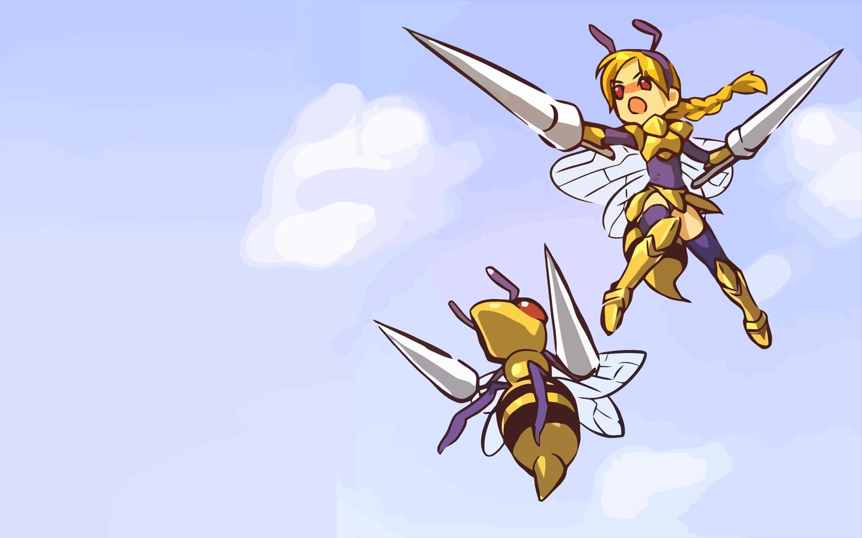 beedrill hitec moemon pokemon
