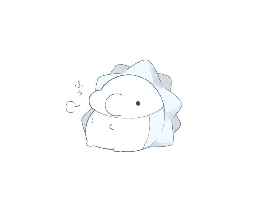 monochrome pokemon snom white yrz_oou