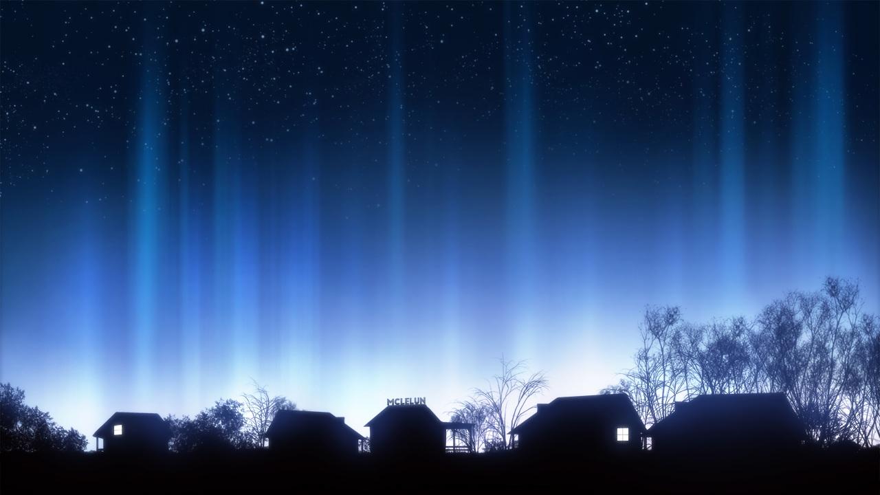 dark landscape mclelun nobody original scenic silhouette sky stars