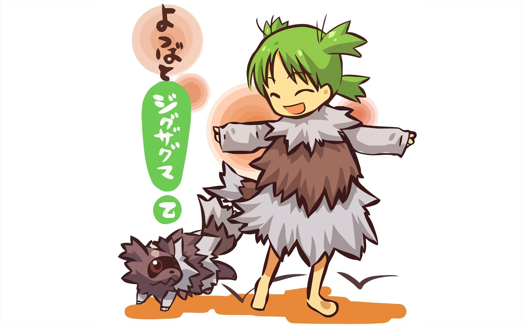 crossover koiwai_yotsuba pokemon yotsubato! zigzagoon