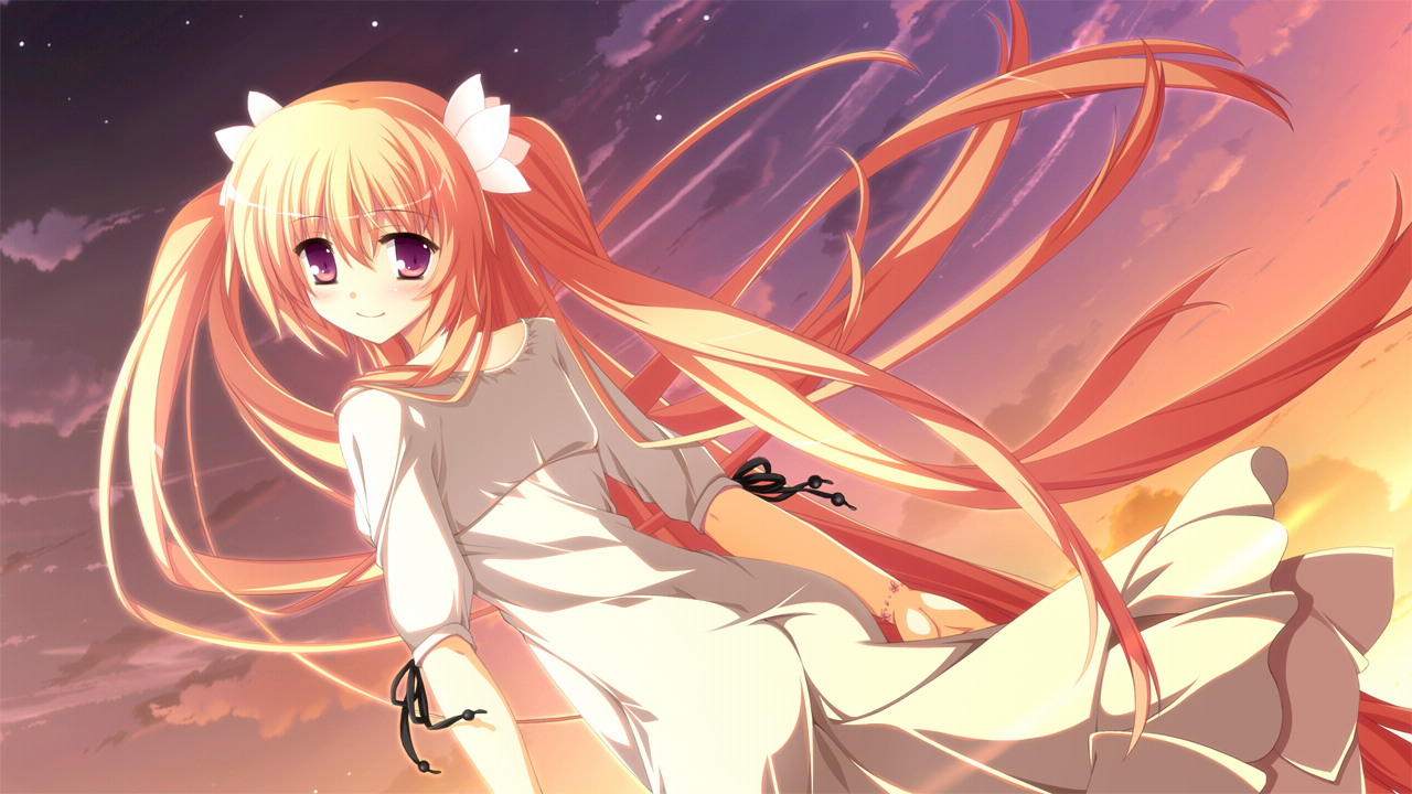 clouds fortissimo//akkord:bsusvier game_cg ooba_kagerou sakura_(fortissimo) twintails