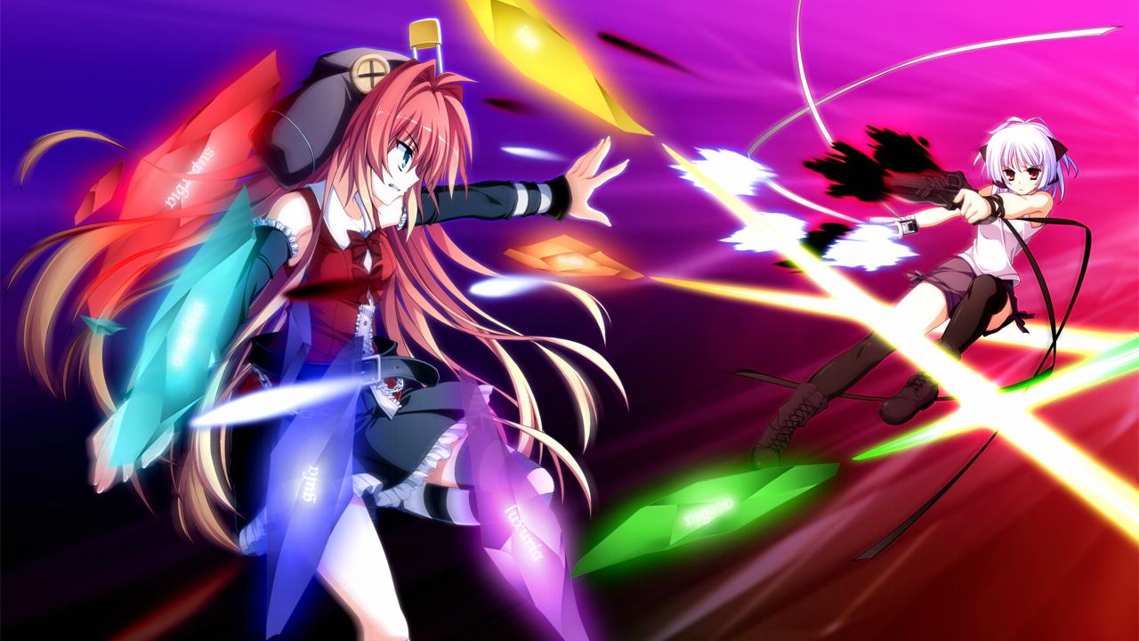 fortissimo//akkord:bsusvier game_cg kurobane_sayuki ooba_kagerou satomura_momiji