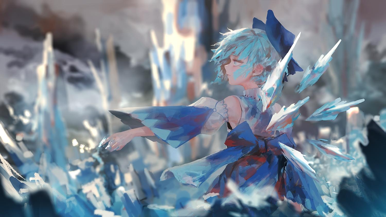 cirno fairy rsef touhou