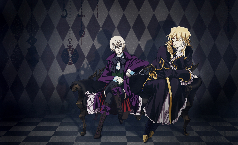 all_male alois_trancy blonde_hair crossover kuroshitsuji male pandora_hearts vincent_nightray