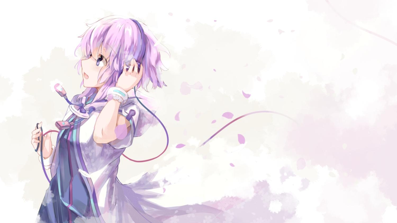 dress headphones hoodie hyperdimension_neptunia neptune purple_eyes purple_hair shinsoyori short_hair white