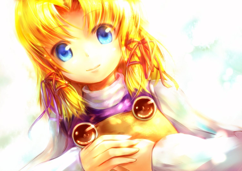 blonde_hair blue_eyes close hat moriya_suwako sakura_ani short_hair touhou