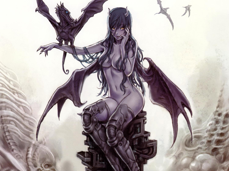 Nude angel and demon fantasy art galleries adult movie