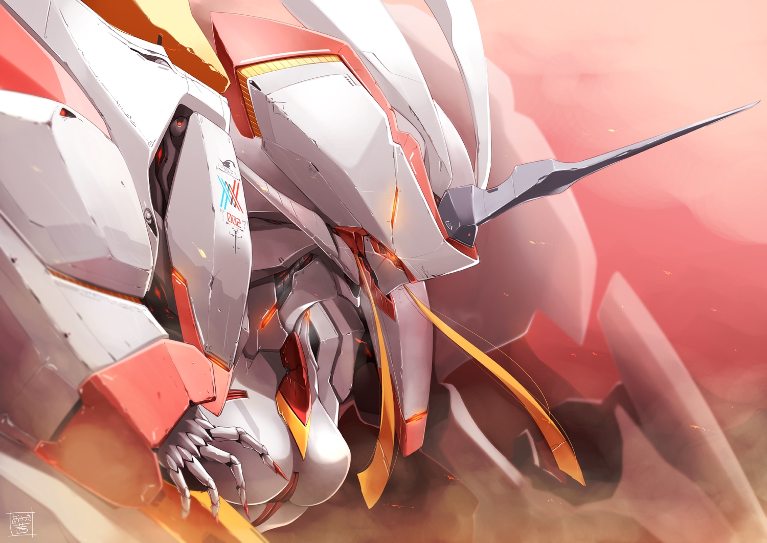 darling_in_the_franxx mecha signed tagme_(artist)