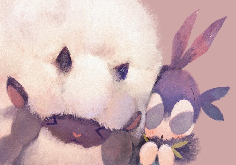 animal blipbug close manino_(mofuritaionaka) nobody pokemon sheep wooloo