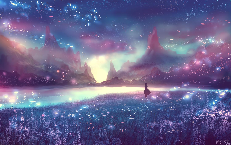 bou_nin original polychromatic scenic silhouette