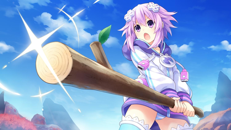 game_cg hyperdimension_neptunia neptune tsunako