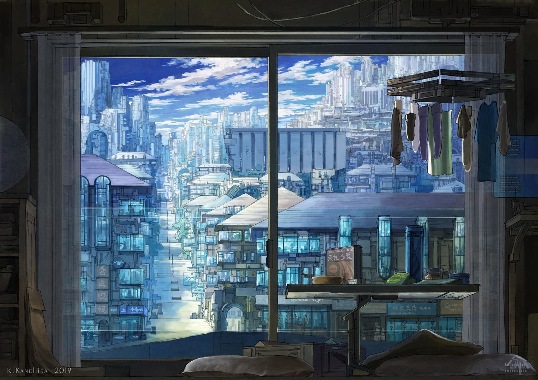 blue building city k_kanehira nobody original scenic watermark