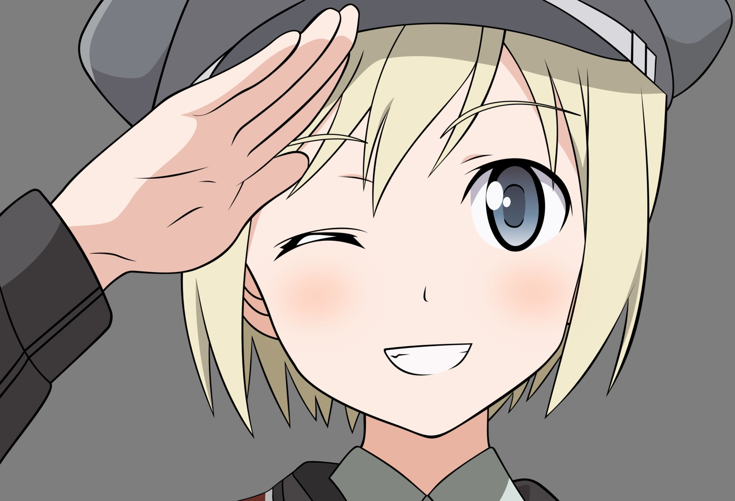erica_hartmann strike_witches transparent vector
