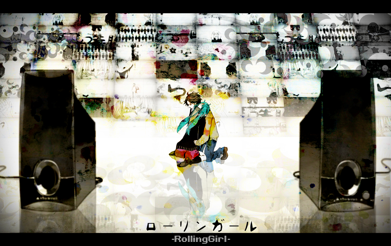 akiakane hatsune_miku rolling_girl_(vocaloid) vocaloid