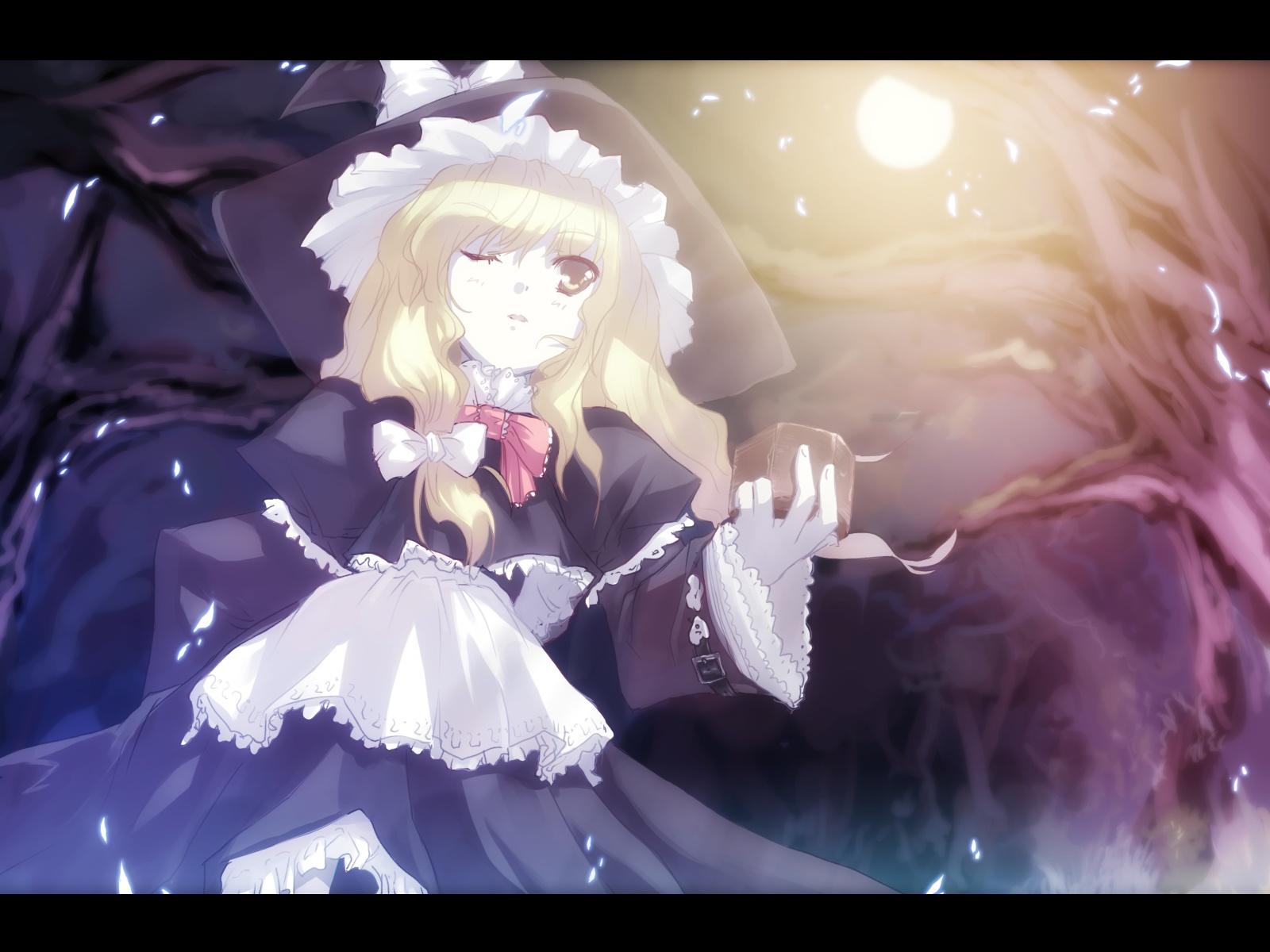 kirisame_marisa tokiame touhou witch