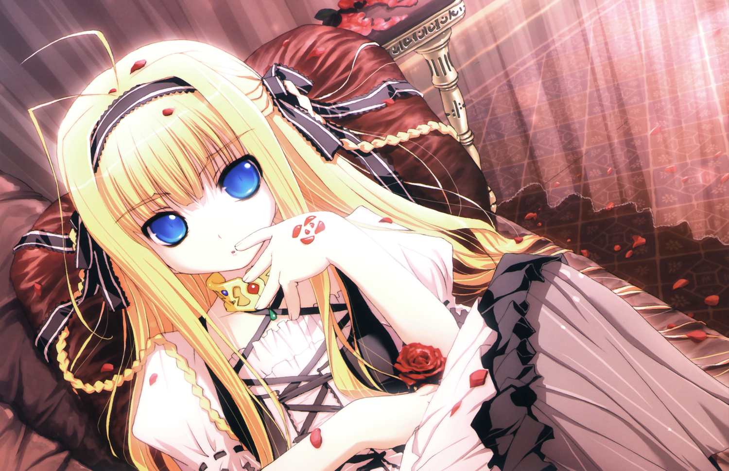 akata_itsuki dragon_crisis! lolita_fashion rose_(dragon_crisis!)