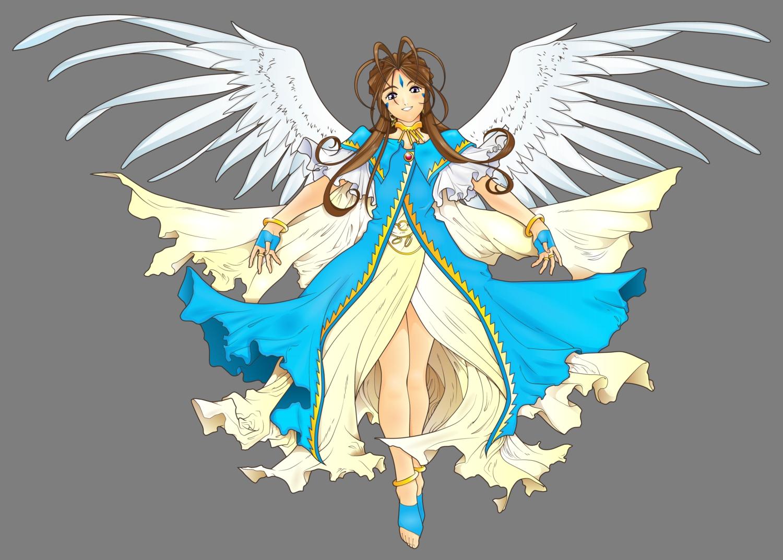 aa_megami-sama belldandy transparent vector wings
