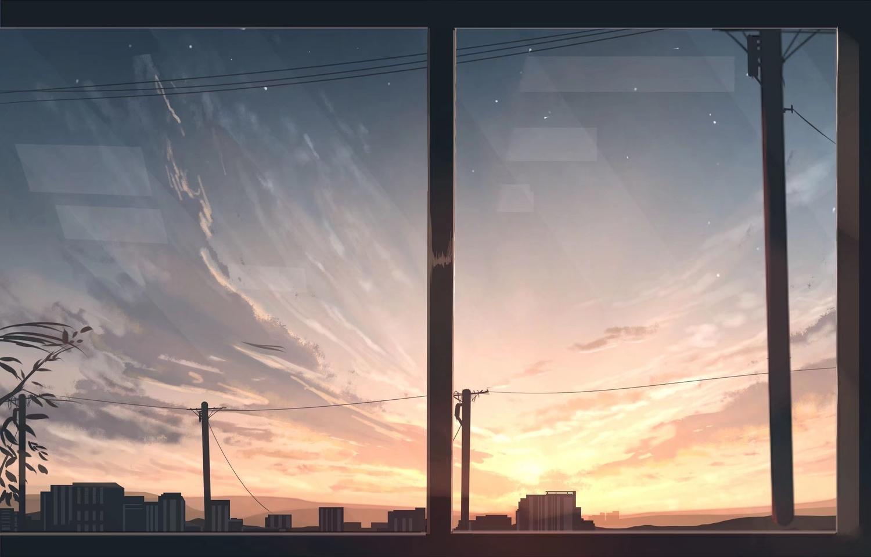 building clouds nobody original scenic sky skyrick9413 sunset