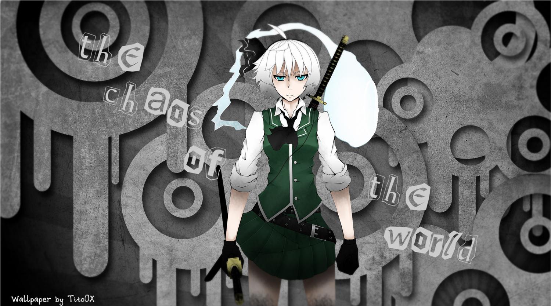 gray_hair konpaku_youmu myon sword touhou weapon