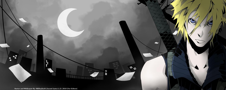 cloud_strife final_fantasy final_fantasy_vii final_fantasy_vii_advent_children takatoshi_shiozawa third-party_edit vector