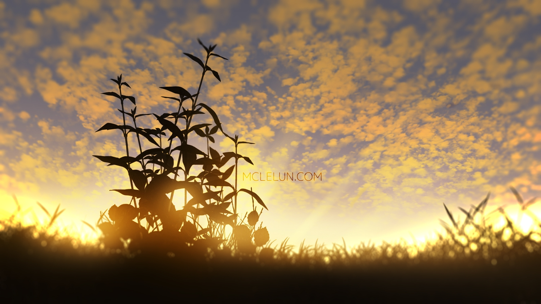 clouds landscape mclelun nobody original scenic sky sunset watermark
