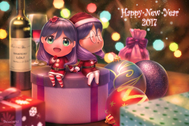 christmas dej_(shiori2525) serinuma_kae watashi_ga_motete_dousunda