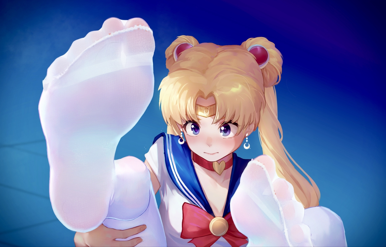 blonde_hair blue_eyes choker close headband ice_(dzs1392584271) long_hair pantyhose sailor_moon sailor_moon_(character) school_uniform tsukino_usagi twintails