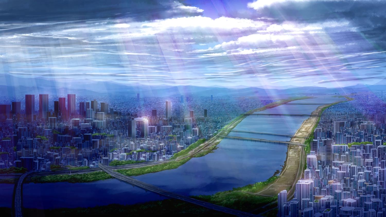 building city clouds landscape mtda3235 nobody original scenic sky water