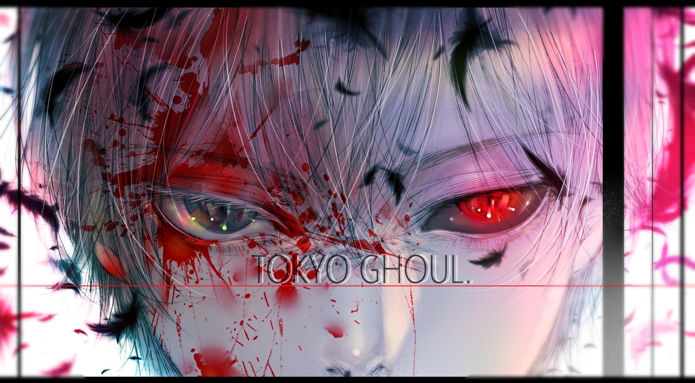 all_male close kaneki_ken male polychromatic satsuki_kei tokyo_ghoul