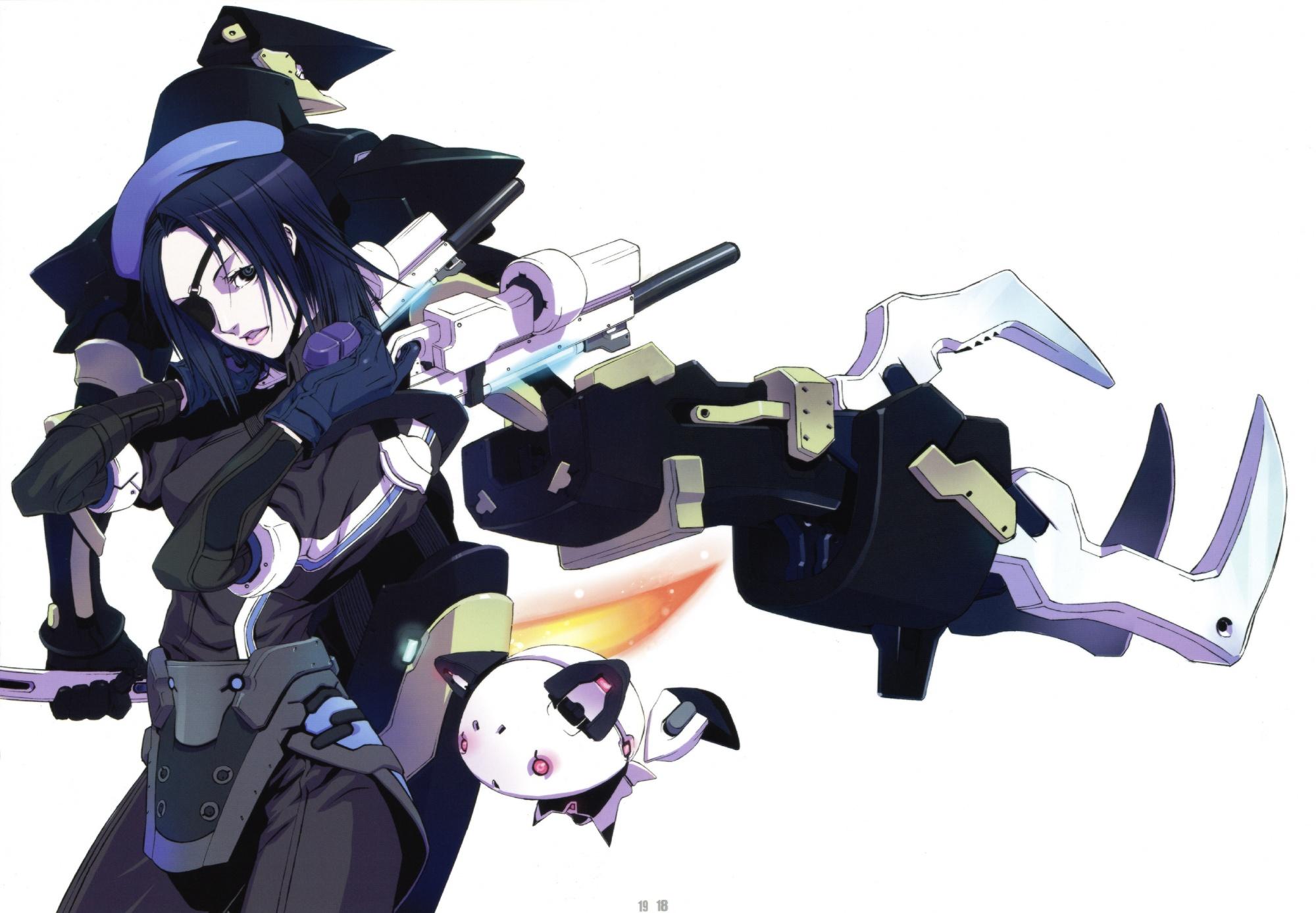 eyepatch gun hat sword tagme weapon