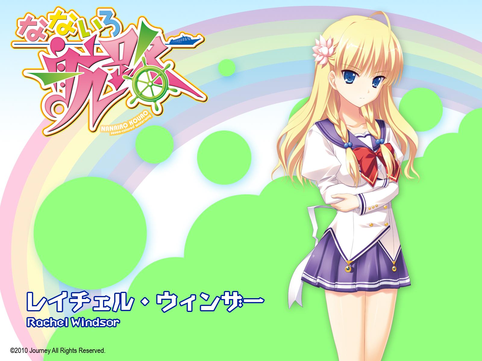 blonde_hair blue_eyes braids flowers journey long_hair nanairo_kouro rachel_windsor rakko school_uniform
