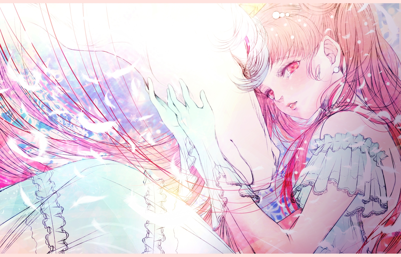 chibiusa helios polychromatic sailor_moon satsuki_kei sketch