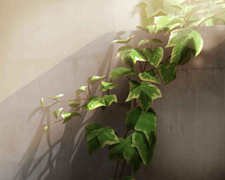 cropped inika leaves nobody original scenic