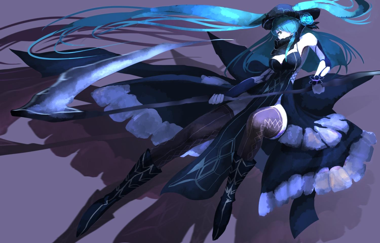 fufu_(fufuichi04) original scythe weapon
