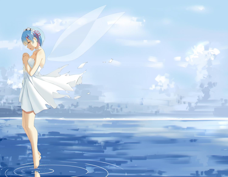rem_(re:zero) re:zero_kara_hajimeru_isekai_seikatsu tagme_(artist)