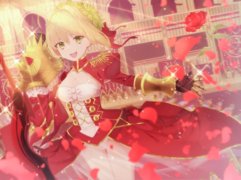 fate/grand_order fate_(series) meizi_(sakura_umeko28) nero_claudius_(fate)